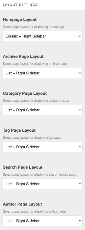 GrandMagazine Wordpress Version Documentation Template